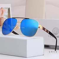 Eudoragift Versace Woman Men Fashion Summer Sun Shades Eyeglasses Glasses Sunglasses 027