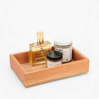 Wooden Storage Tray - Small- Natural One