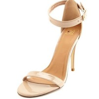 Ankle-Strap Single Sole Pump: Charlotte Russe
