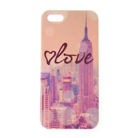 Soft Touch Love New York City Cover for iPhone 5 and 5s