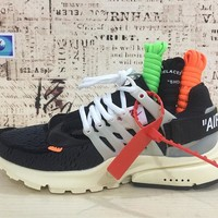 Best Deal Online Off-White x Nike Air Presto Men Running Shoes Women Sports Shoes AA3830-001