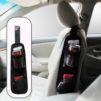 Hot Auto Car Seat Side Hanging Bag Storage Mesh Pocket Organizer Holder - Walmart.com