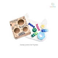 ViviPet Designed | Candy Lovers Cat Toy Box