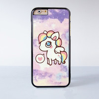 Cute Unicorn Plastic Case Cover for Apple iPhone 6 6 Plus 4 4s 5 5s 5c