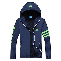 Trendsetter ADIDAS Women Cardigan Jacket Coat Windbreaker