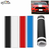 1x Car Decal Vinyl Graphics stickers Hood Dual Racing Stripe for Mustang 938