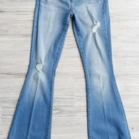 ARTICLES OF SOCIETY Faith Flare Jeans