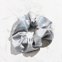 Holographic Scrunchie | Urban Outfitters