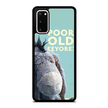 EEYORE DONKEY QUOTE Samsung Galaxy S20 Case Cover