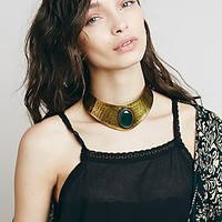 Free People Womens Oracle Stone Collar