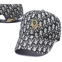 Dior Woman Men Fashion Print Sport Baseball Hat Cap