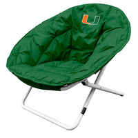 Miami Hurricanes NCAA Adult Sphere Chair