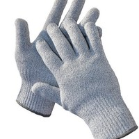 G & F CUTShield Classic Kitchen Cut Resistant Gloves, High performance cut level 5, Food Contact Safe, Grey, Size Medium(Fits most women's hand).