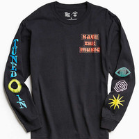 UO + VH1 Save The Music Foundation Long Sleeve Tee   Urban Outfitters