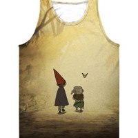 Over The Garden Wall - Tank Top (American Apparel All Over Sublimation Tank) - custom tank top