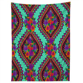 Aimee St Hill Ivy Teal Tapestry