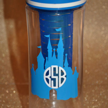 Cinderella Castle Infuser Bottle/Coffee Cup/Mug/Bottle/Wine Glass/Wine Sippy Cup/Travel Mug