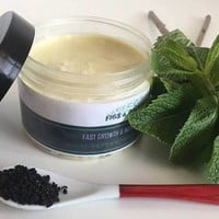Fast growth and nourishing hair cream with PEPPERMINT ESSENTIAL OIL 100% natural