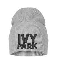 Ribbed Logo Beanie by Ivy Park - Ivy Park - Clothing
