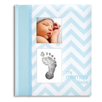 Baby Memory Book Blue