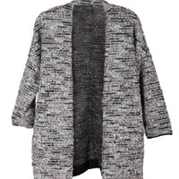 MARBLE KNIT CARDIGAN