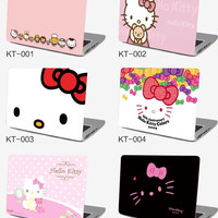 Notebook laptop case film 17.3 size 17 inch computer sticker outside protective cover ipad skin Decal hello kitty kt pink gift