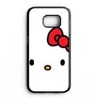 Cartoon Hello Kitty Samsung Galaxy S6 Edge Case