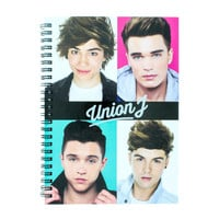 Union J A5 Notebook