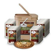 Wise Foods Entree only Grab and Go Bucket 120 Servings