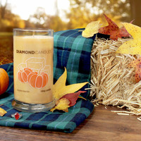 Autumn Hayride Ring Candle
