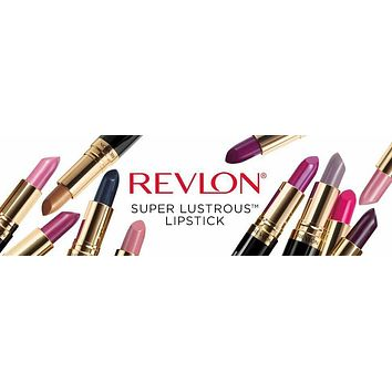 Revlon Super Lustrous Lipstick - Your Choice Shades