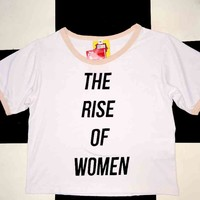 SWEET LORD O'MIGHTY! THE RISE OF WOMEN RINGER TEE