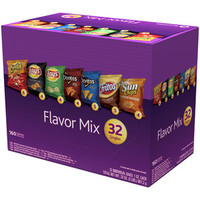 Walmart: Frito-Lay Flavor Mix Snack Variety Pack, 1 oz, 32 count