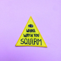 """SQUIRM CONSPIRACY 2"""" Iron on Patch"""
