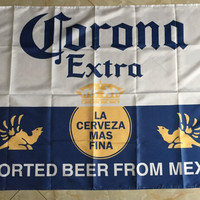 Corona beer flag banner 3x5FT 100D digital printing event decoration bar Oktoberfest free shipping