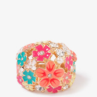 Lacquered Wildflower Ring