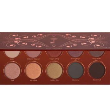 Golden Toned Eyeshadow Palette, 10 Colors