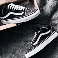 Vans Old Skool X Goyard Customs Classic low-top Sneaker