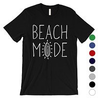 365 Printing Beach Mode Mens Relax Serene Mood Summer Tranquil T-Shirt For Gift