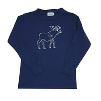 Moose Long Sleeve Tee