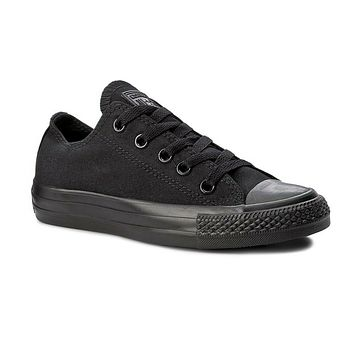 Converse Chuck Taylor All Star A/S Ox Black Monochrome M5039 Womens Sneakers