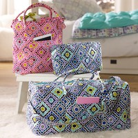 Quilted Sleepover Ruby Cool Duffle
