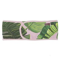 Ultimate Spa Palm Print Microfiber Headband