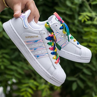 """""""Adidas"""" Fashion Multicolor Flats Sneakers Sport Shoes"""