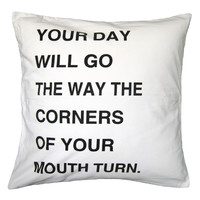 Direction of the Day Pillow