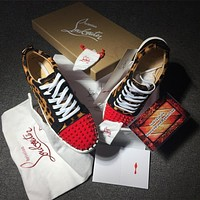 Christian Louboutin CL Low Style #2080 Sneakers Fashion Shoes Online