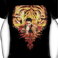 Jensen's eye of the tiger Women's T-Shirt
