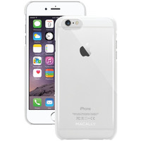 """MACALLY SNAPP6LC iPhone(R) 6 Plus 5.5""""""""/6s Plus Snap-On Case (Clear)"""