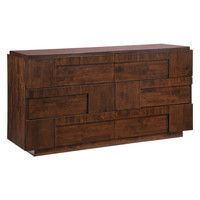 San Diego Double Dresser Walnut