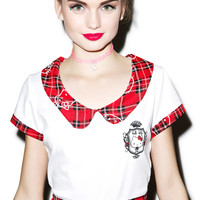 Japan L.A. Hello Kitty School Girl Set Red